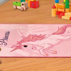 שטיח ילדים – דגם חד קרן Princess