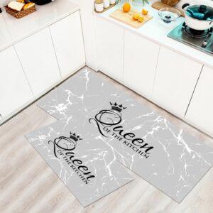 שטיח מטבח – דגם Queen אפור