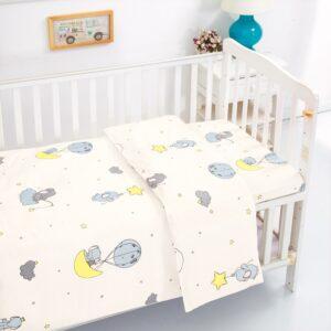 סטים למיטת תינוק בד 100% כותנה