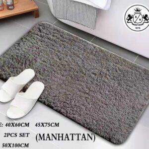 שטיח אמבטיה דגם מנהטן גודל 45×75